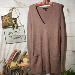 J Crew; Rose; Sweater; Cardigan; Top; L